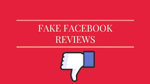 Fake facebook real estate reviews