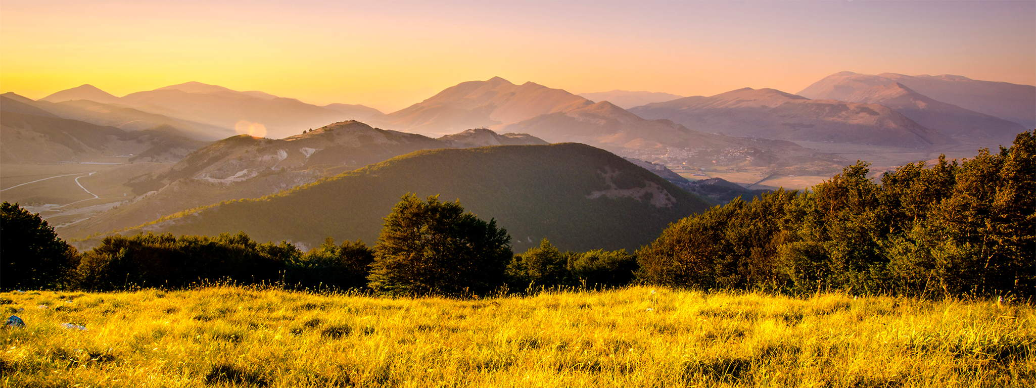 Abruzzo, the greenest region in Europe.