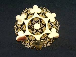 The tradition of making and giving the jewel goes back at least 200 years