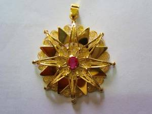 Traditional jewellery from Abruzzo