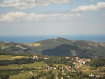 Town house with sea view in Palmoli. Abruzzo. Img1