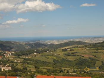 Town house with sea view in Palmoli. Abruzzo. Img11