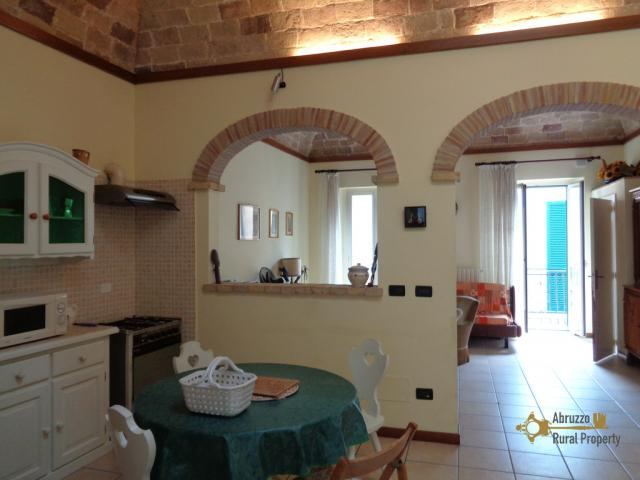 Beautiful townhouse for sale, situated in the historic centre of Vasto. Abruzzo.
