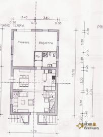 Villa with land to complete, at 15 km from the beach. Img14