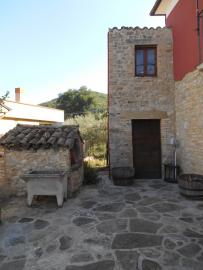 Character Stone House With Garden Roccascalegna Abruzzo