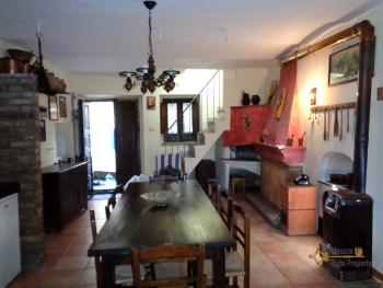 Restored character stone house for sale in Guilmi, Abruzzo.