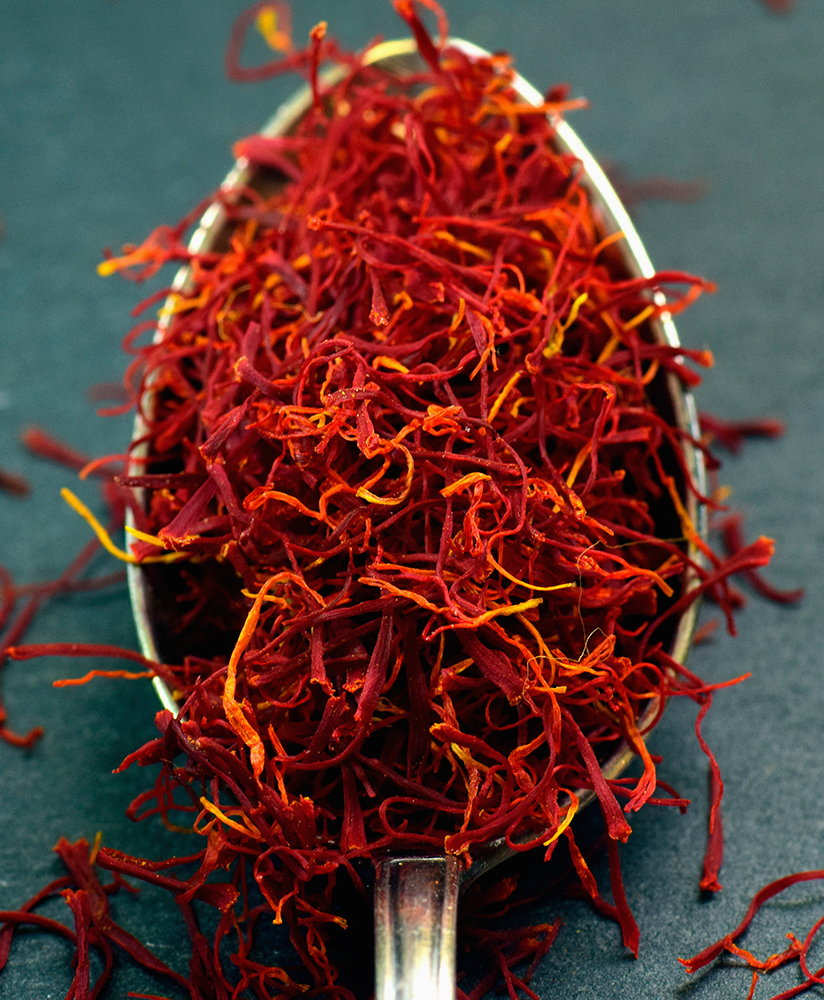 Saffron from Abruzzo (or Zafferano dell'Aquila DOP) is widely regarded as the best in the world.