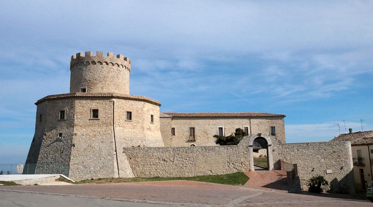 The Marquise castle in Palmoli, Abruzzo, Italy