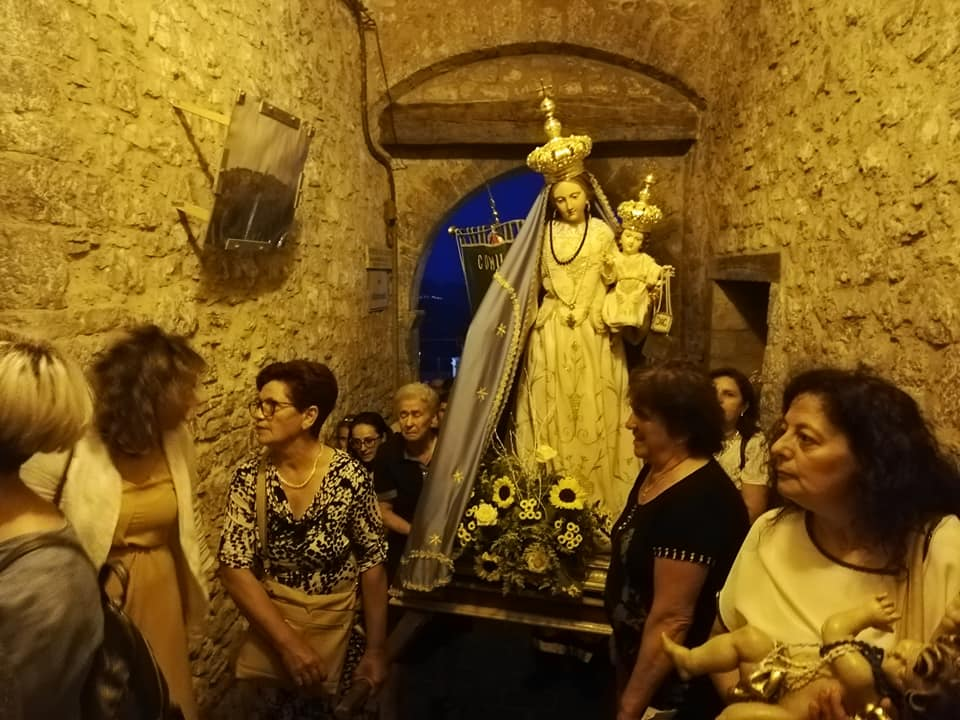 Night procession in Palmoli, Abruzzo